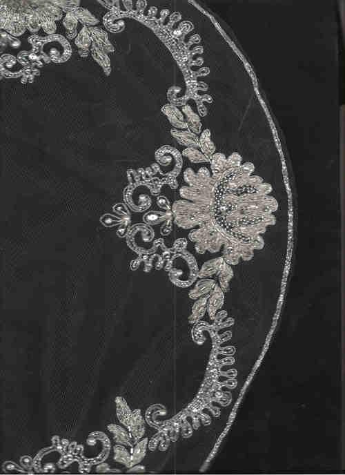 Elaborate Wedding Veil