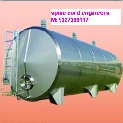 SS-304/202 milk storage tank