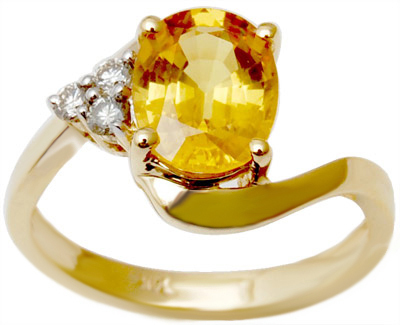 lattest citrine gold ring for womens, three diamond citrine stone gold ring
