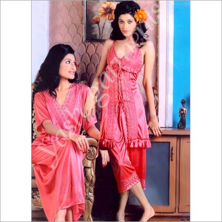 Ladies Satin Night Wear