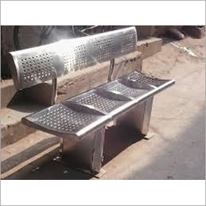 Outdoor Steel Bench