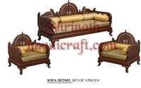Teak Sofa Set 005