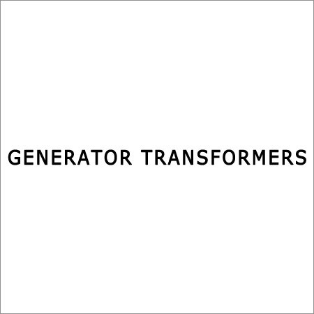 Electrical Generator Transformers