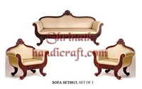 Teak Sofa Set 015
