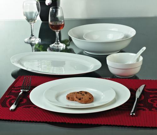 Valerio - White 16 Pcs Dinner Set For 4