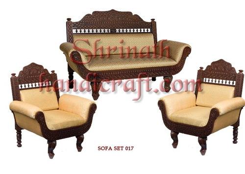 Teak Sofa Set 017
