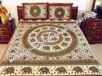 ELEPHANT BEDSHEET WITH PILLOW COVER