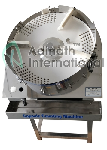 Tablet & Capsule Counting & Filling Machine