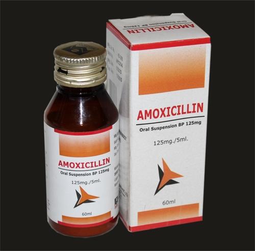 Amoxicillin Dry Syrups 125mg/250mg