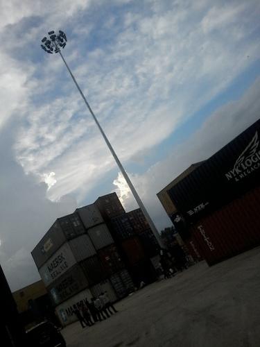 Street Lighting High Mast Poles