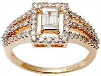 Wholesale price of rose gold diamond couple ring
