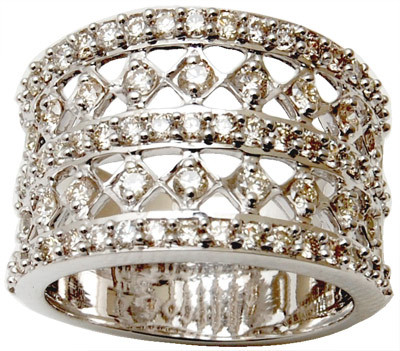 Beautiful gold diamond ring design