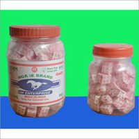 Plastic Container Packed Camphor