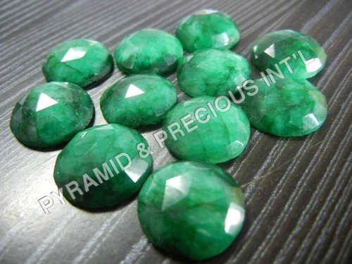 Dyed Emerald Gemstone
