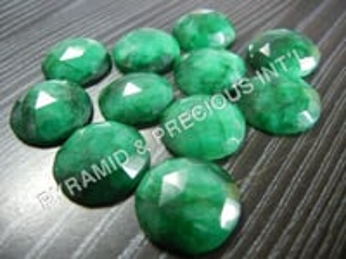 Dyed Emerald Gemstone
