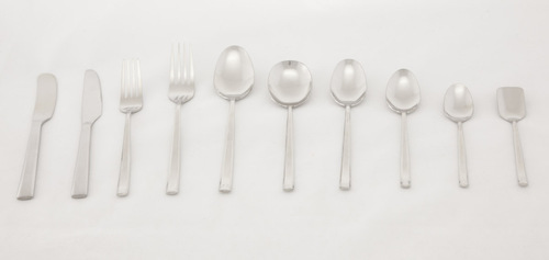 Valerio - 3 mm 18/10 Club Design Spoons