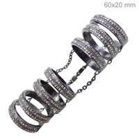 Diamond Sterling Silver Ring