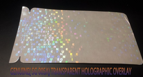Genuine Holographic Overlay