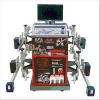 Wheel Alignment 4 Head RF Technology