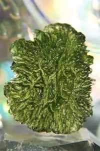 Energetic Natural Moldavite Gemstone