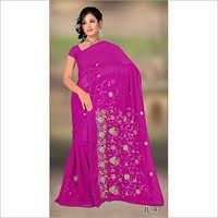 Booti Weave Silk Saree