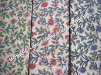 COTTON FABRIC FLOWER PRINT