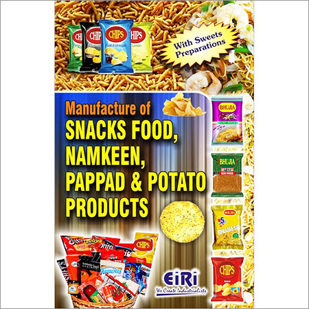 Manufacture Snacks Food, Namkeen, Pappad Products