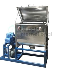 Horizontal Ribbon Blender Mixer