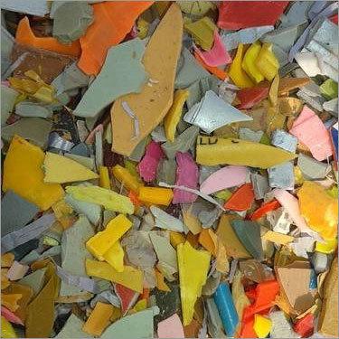 Yellow HIPS Plastic