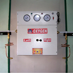 Gas Manifold with Medical Control Panel