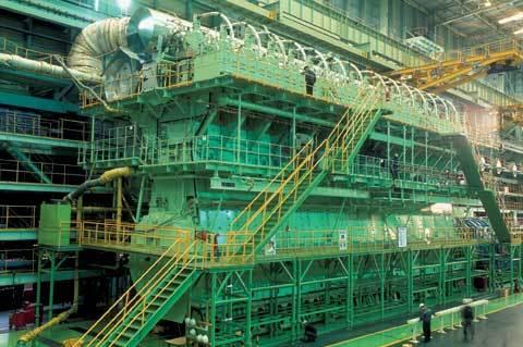 Ship Diesel Engine