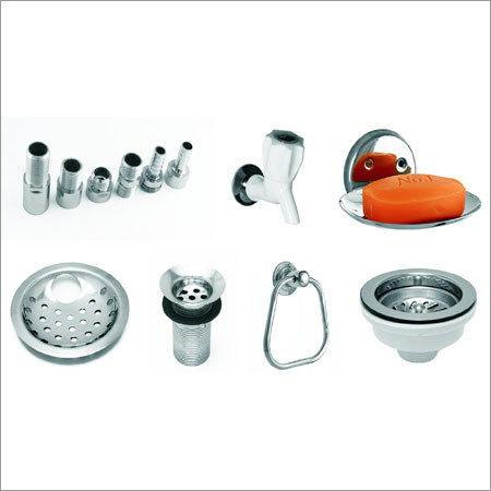 SS Bathroom Fittings Accessories