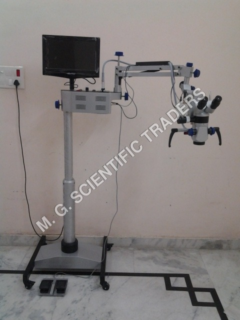 ENT Operating Microscope Five Step with LCD, CAMERA & Motorized