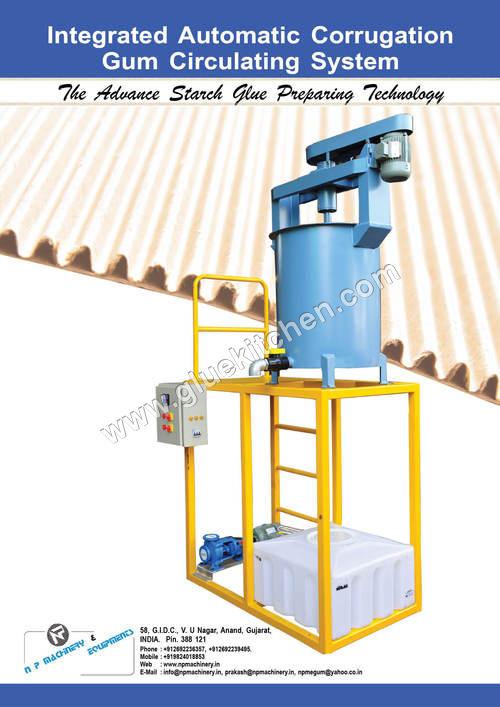 Gum & Adhesive Processing Machinery