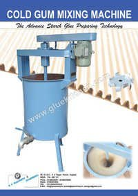 Cold Gum Mixing Machine