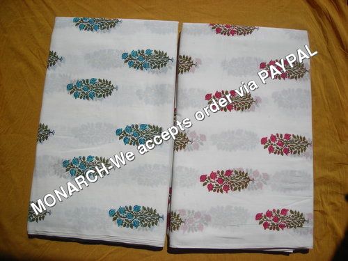 SMALL PLANT COTTON FABRIC