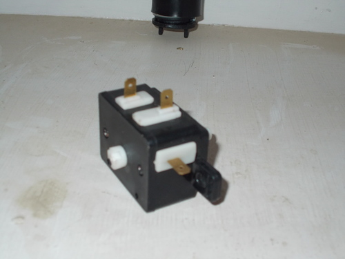 Washing Machine Drain Selector Switch
