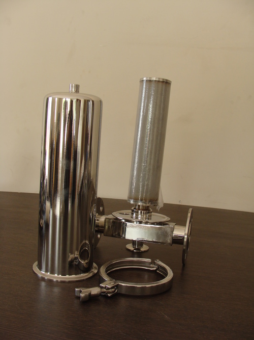 SS Cartridge Filter Housing