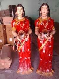 Indian Woman Statue