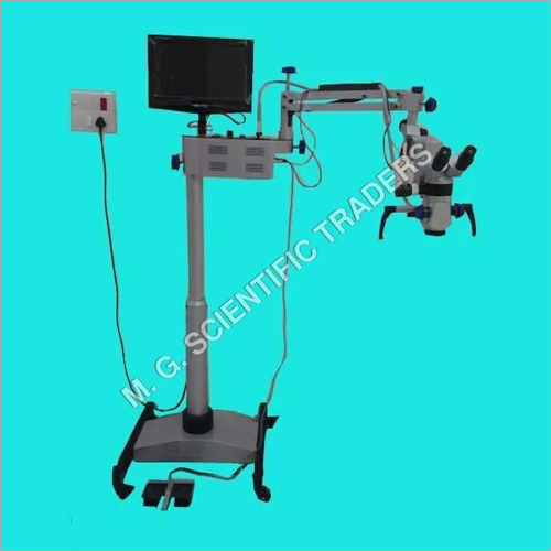 DENTAL SURGICAL MICROSCOPE FIVE STEP WITH LCD, CAMRA & MOTORIZED LABGO