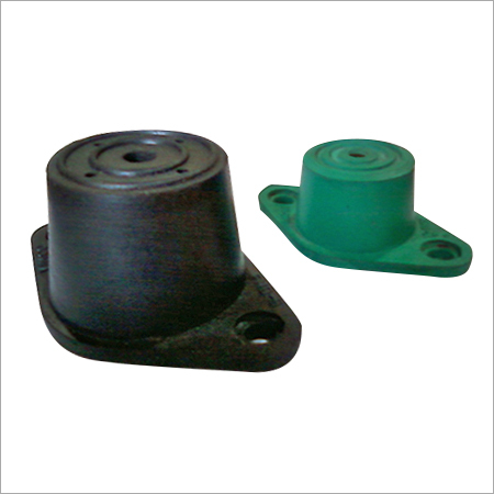RUBBER - IN - SHEAR MOUNT (DOUBLE DEFLECTION)