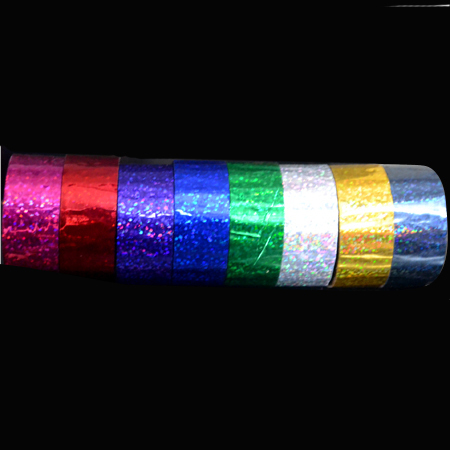 Holographic Tapes Glitter Pattern