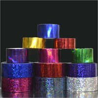 Holographic Tapes Sequins Rainbow Pattern