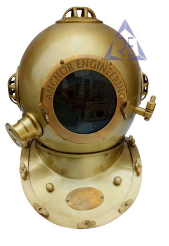Anchor Engineering Home Decor Diving Helmet