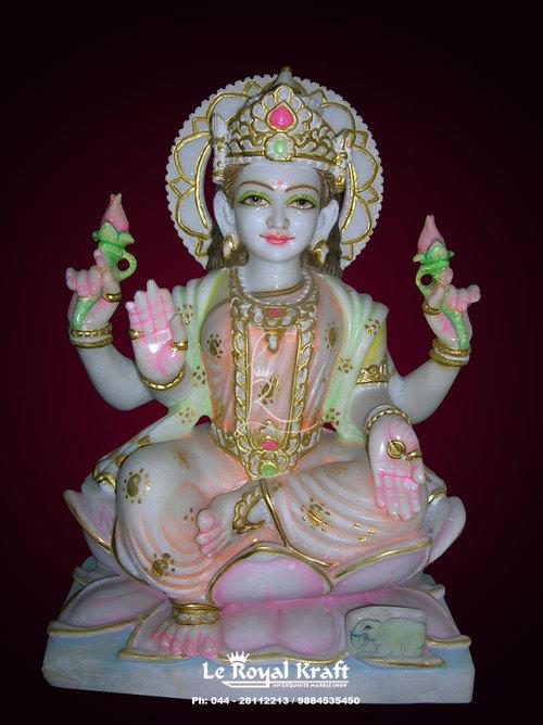 Marble Laxmi Statue