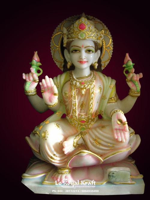 Indian Goddess Laxmi Statue