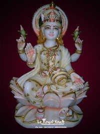 Marble Lakshmi Mata Sculpture