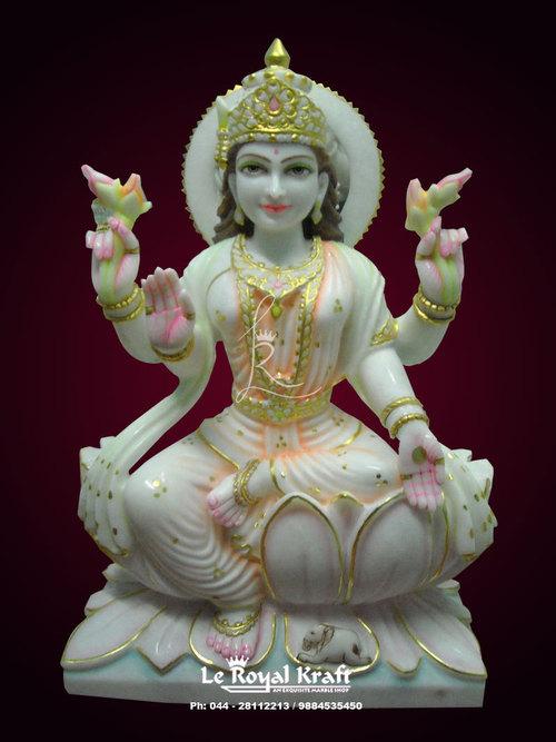 Marble Laxmiji Statue