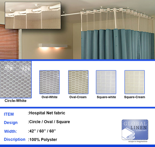 Hospital Net Curtains