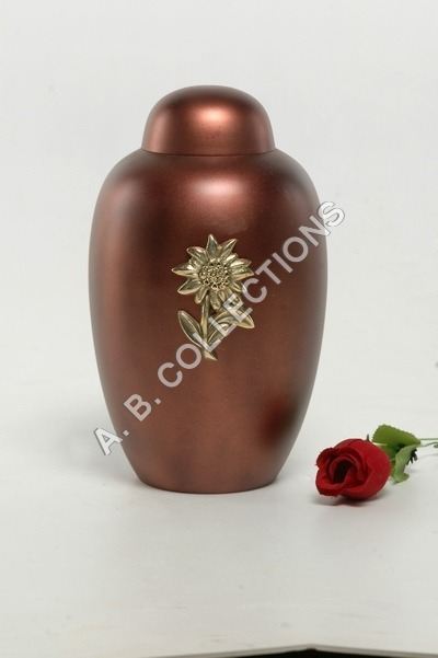 DOME TOP METAL CREMATION URN